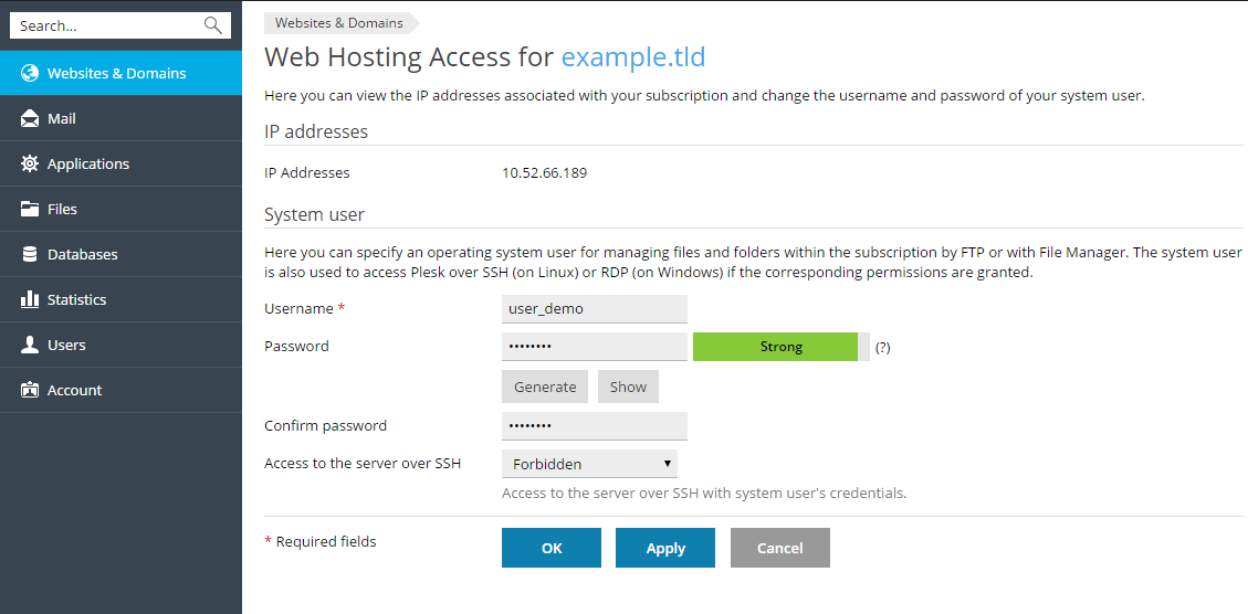 Web_hosting_access